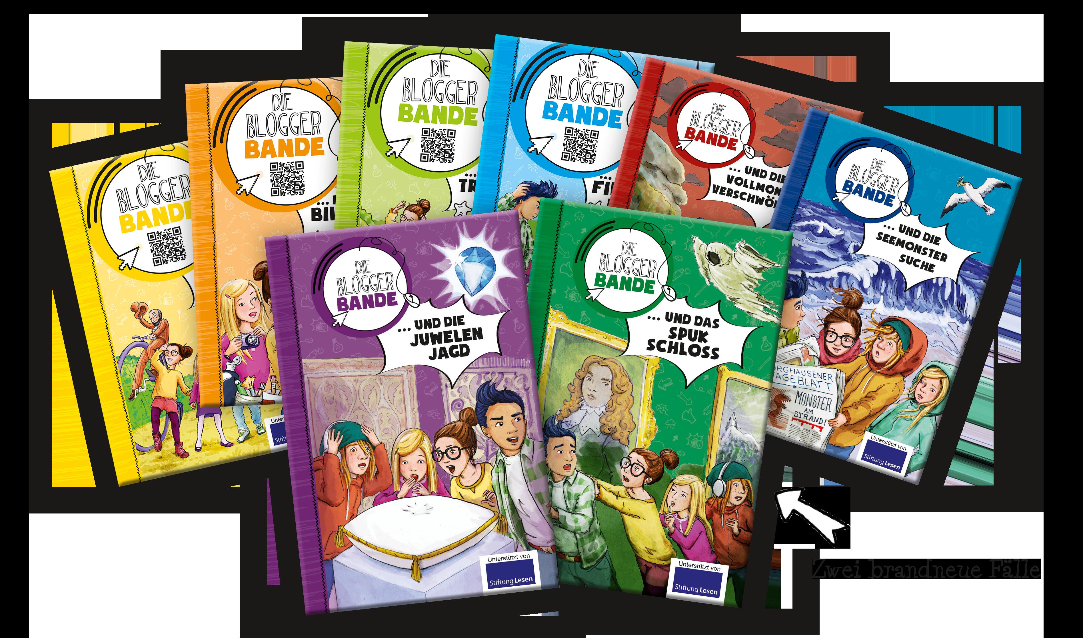Bücherfächer Bloggerbande