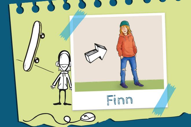 Die_Bloggerbande_Profil_Finn