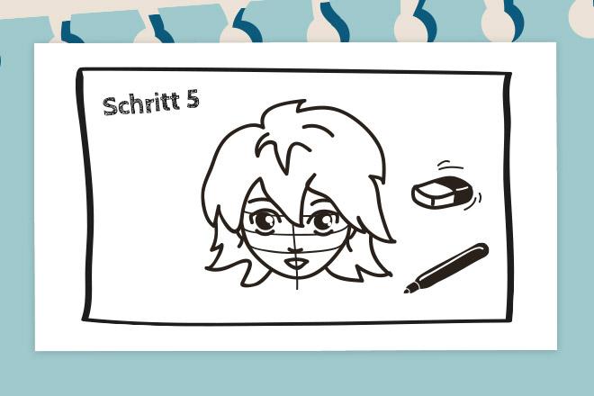 So Zeichnet Man Ein Mangagesicht Die Bloggerbande