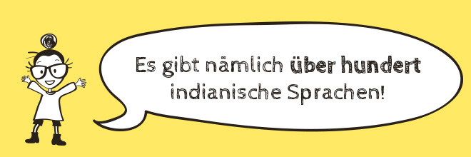 Sprechblase Indianer-Tricks