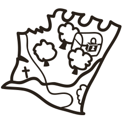 Landkarte Karten lesen