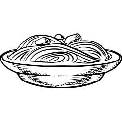 Lieblingsessen Spaghetti