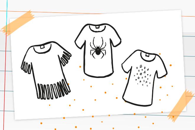 Beitragsbild T-Shirt aufpeppen