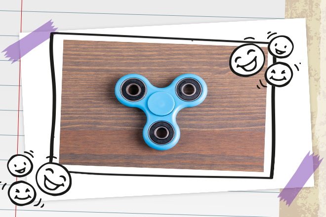 hast du den dreh raus fidget spinner die bloggerbande. Black Bedroom Furniture Sets. Home Design Ideas