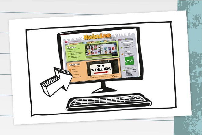 Mein Netztipp: Wahlen-Spezial bei Hanisauland